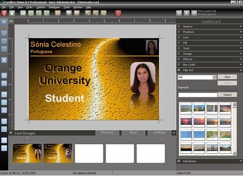 CardFive - Software de diseño de Credenciales :: Altatec de Occidente